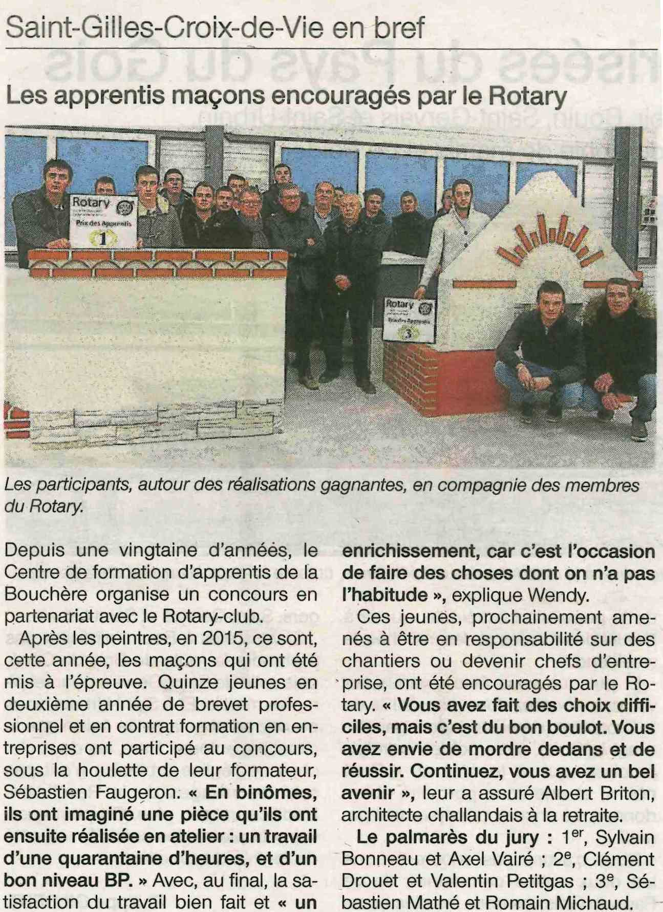ouest france 31-01-16