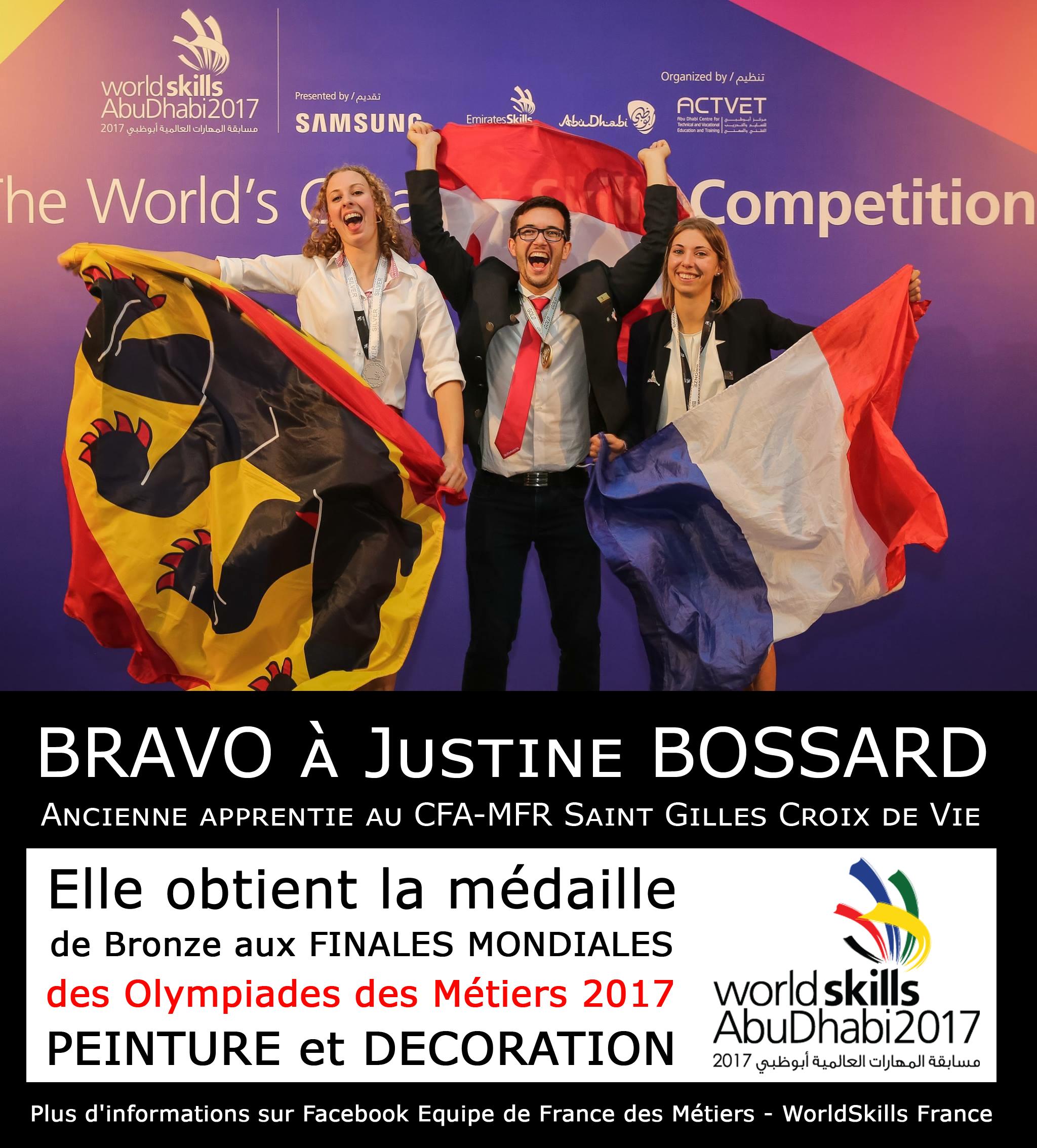 Justine_B_EquipeDeFranceDesMétiers2